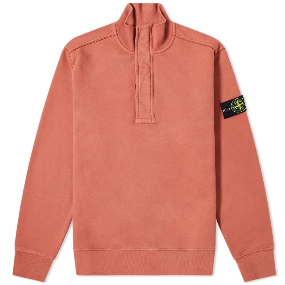Stone Island Junior Garment Dyed Navy Fleece Sweat Pant
