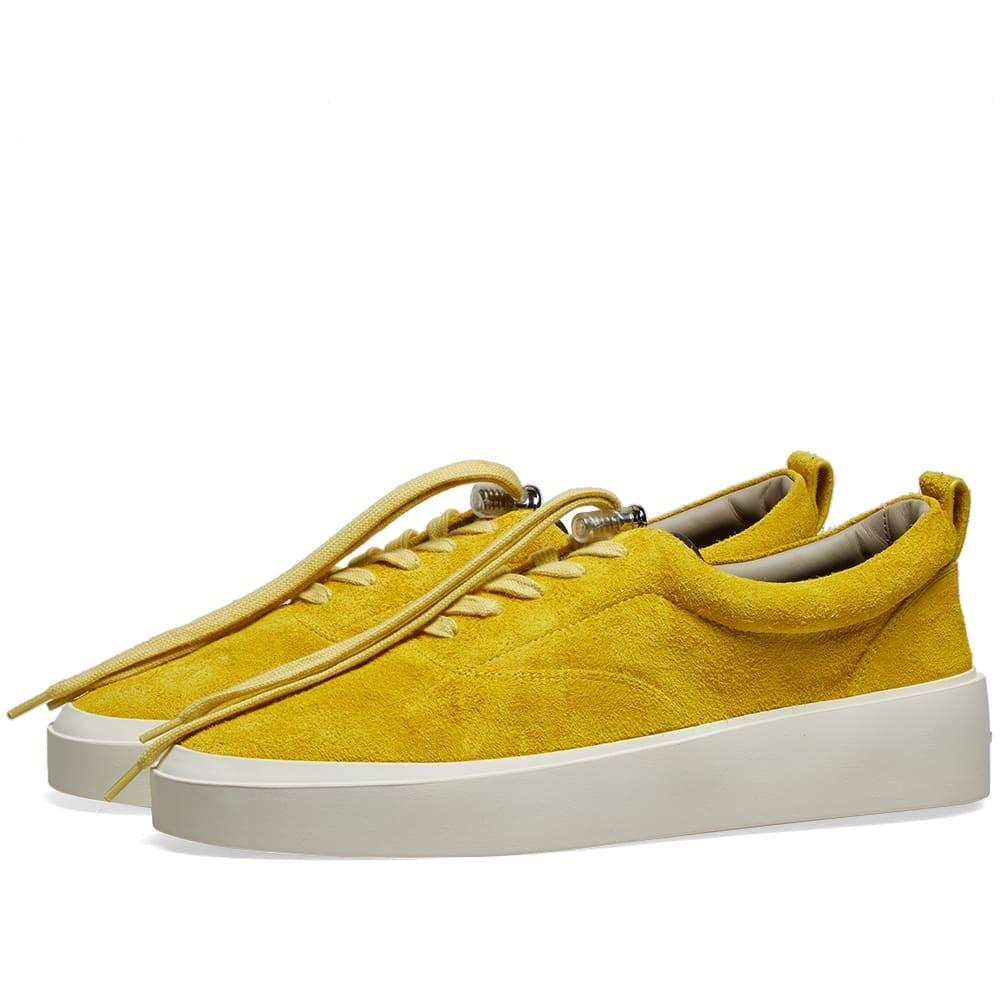FEAR OF GOD スニーカー メンズ 【 101 Lace Up Sneaker 】 Garden Glove Yellow