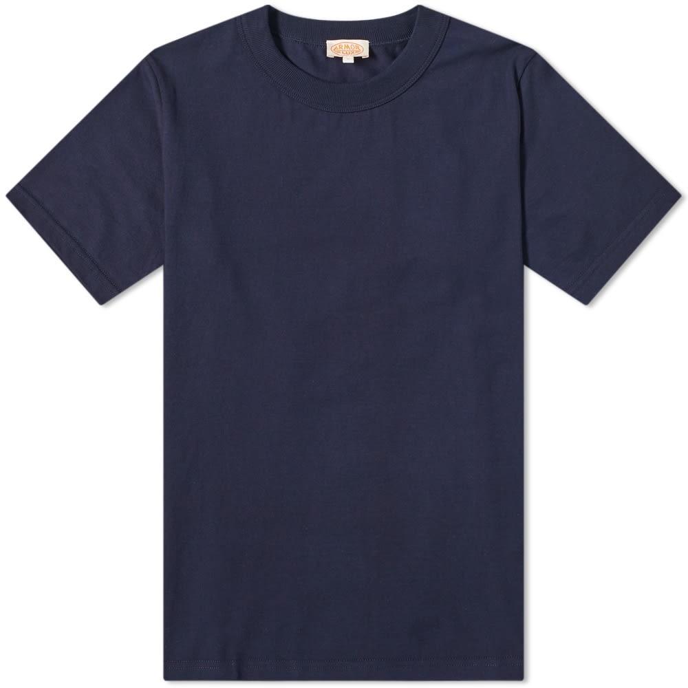 ARMOR-LUX クラシック Tシャツ 紺 ネイビー 【 NAVY ARMORLUX 71990 CLASSIC TEE 】 メンズファッション トップス Tシャツ カットソー