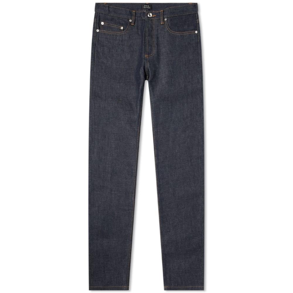 A.P.C. スタンダード 藍色 インディゴ A.P.C. 【 STANDARD NEW JEAN RAW INDIGO 】 メンズファッション ズボン パンツ