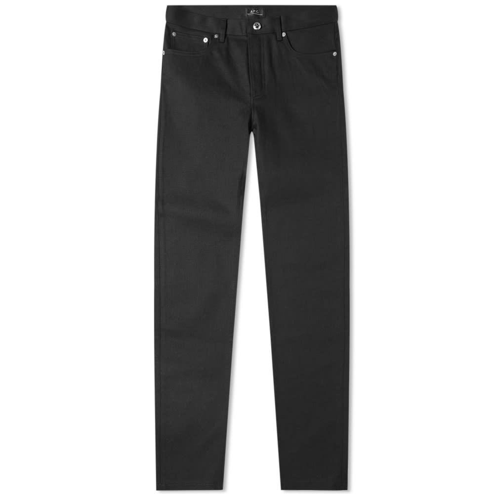A.P.C. スタンダード 【 STANDARD PETIT NEW JEAN BLACK STRETCH 】 メンズファッション ズボン パンツ 送料無料