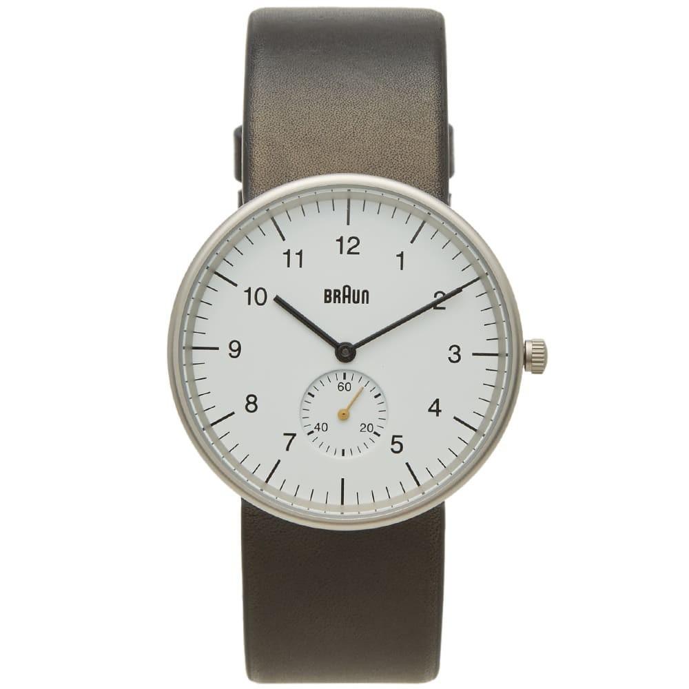 ブラウン BRAUN ウォッチ 時計 黒 ブラック 白 ホワイト & 【 WATCH BLACK WHITE BRAUN BN0024 】 腕時計 メンズ腕時計