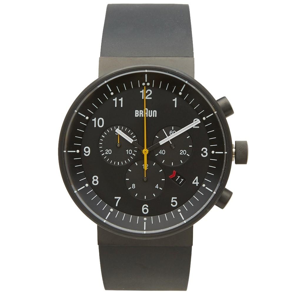 【スーパーセール中! 3/11深夜2時迄】ブラウン BRAUN & 【 BN0095 CHRONOGRAPH WATCH BLACK 】 腕時計 メンズ腕時計 送料無料