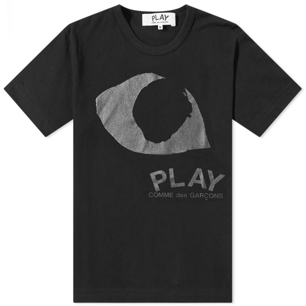 COMME DES GAR?ONS PLAY & 【 GARCONS EYE TEE BLACK 】 メンズファッション トップス Tシャツ カットソー 送料無料