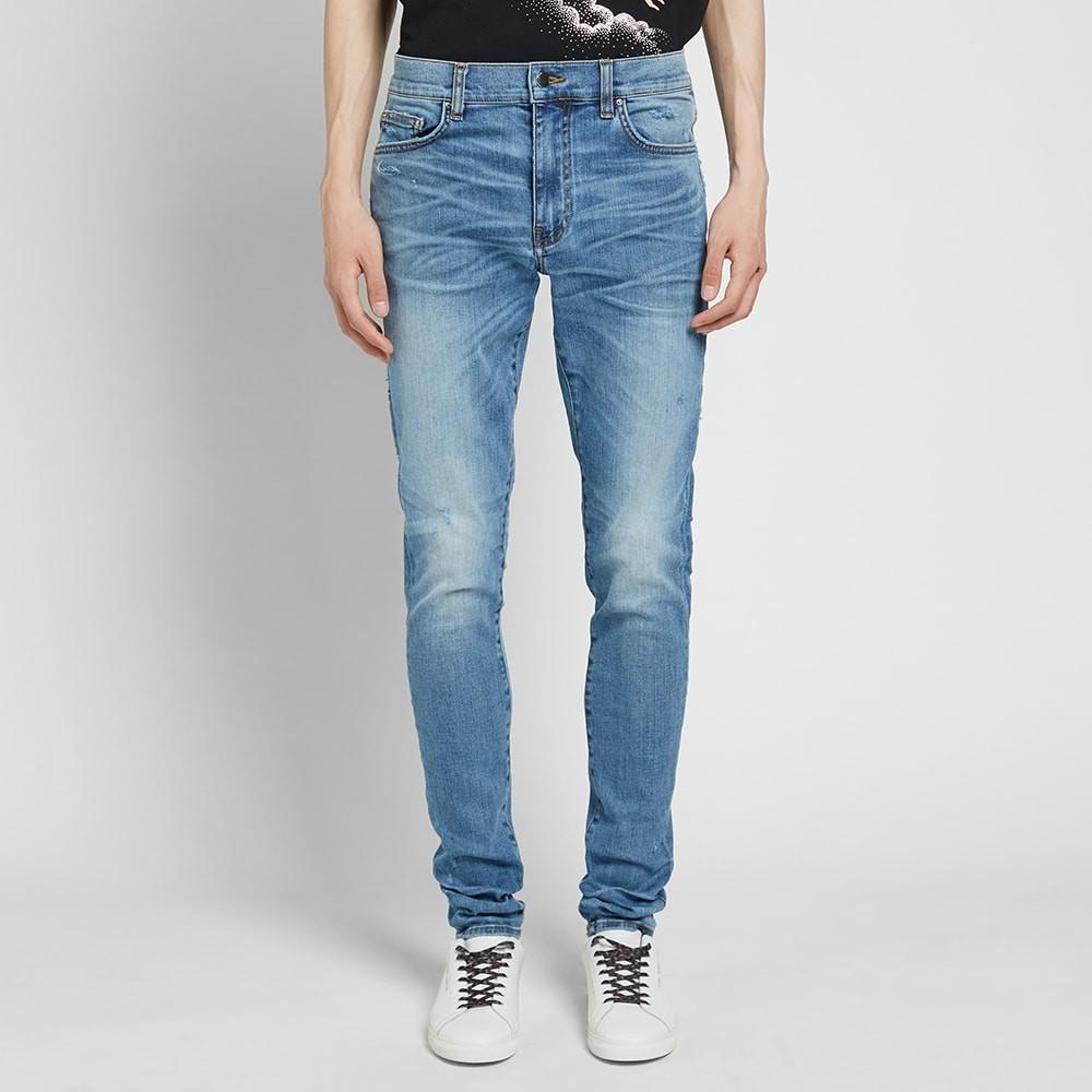 AMIRIAMIRI STACK JEAN ROSEBOWLメンズファッション ズボン パンツsQthrd