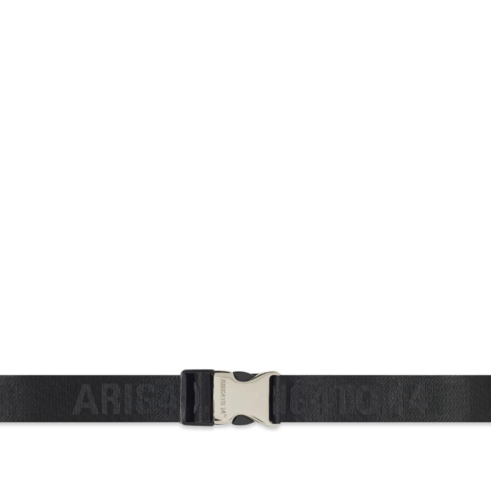 ファッションブランド カジュアル ファッション アクセサリー 【スーパーセール商品 12/4-12/11】AXEL ARIGATO 【 EST14 SIGNATURE WEBBING BELT BLACK 】 バッグ ベルト サスペンダー 送料無料