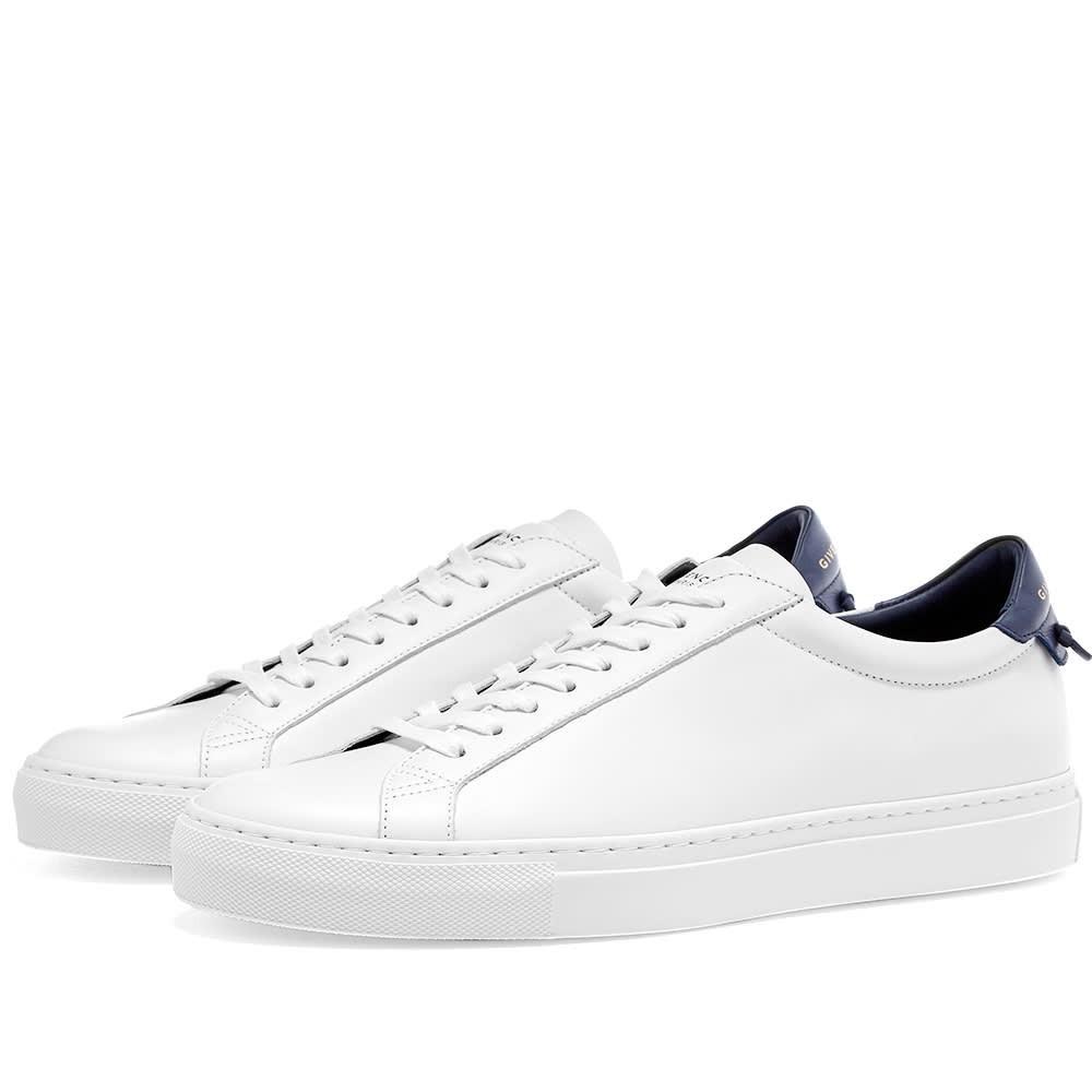 GIVENCHY ストリート スニーカー メンズ 【 Urban Street Low Sneaker 】 White & Navy