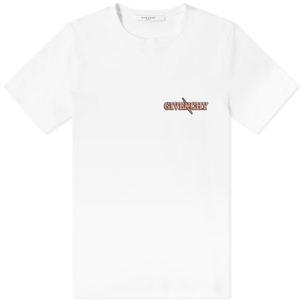 GIVENCHY スリム 【 SLIM SCORPIO FIT TEE WHITE 】 メンズファッション トップス Tシャツ カットソー 送料無料