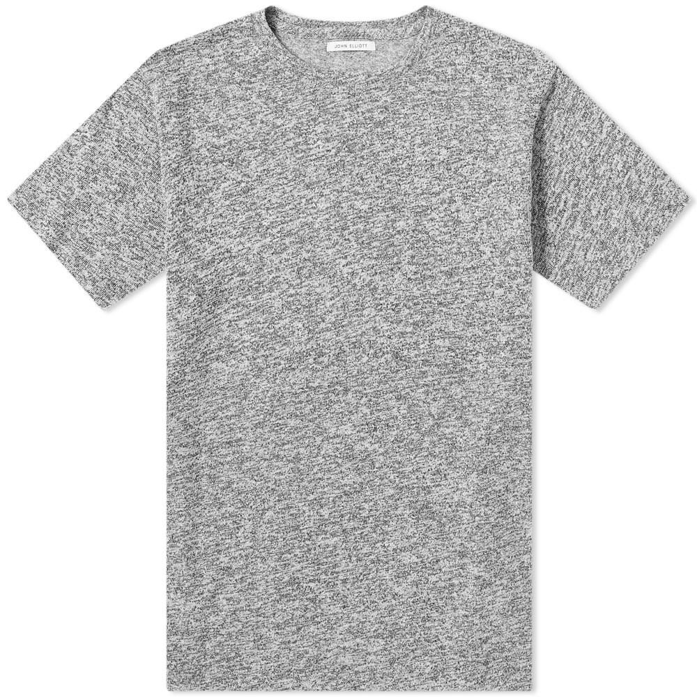 JOHN ELLIOTT クラシック Tシャツ メンズファッション トップス カットソー メンズ 【 Classic Mix Tee 】 Grey