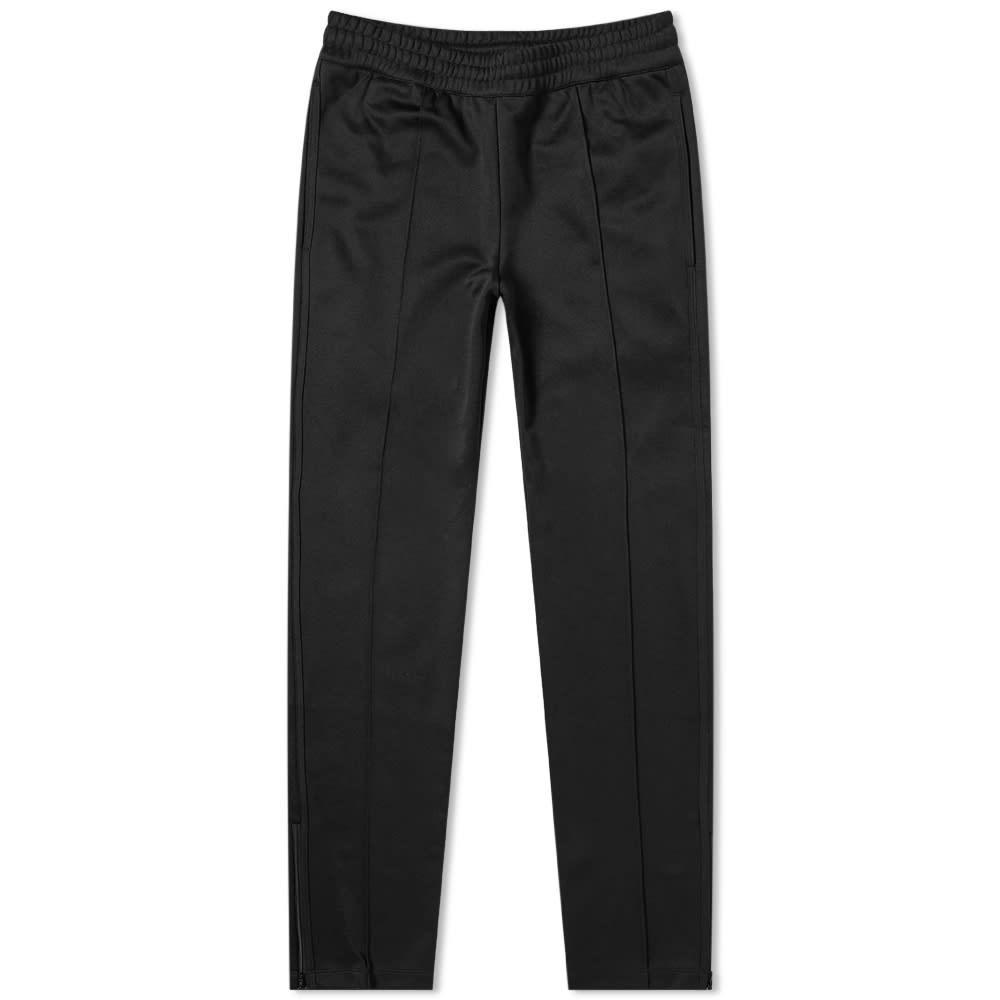 HELMUT LANG トラック 【 TRICOT ZIP HEM TRACK PANT BLACK 】 メンズファッション ズボン パンツ 送料無料