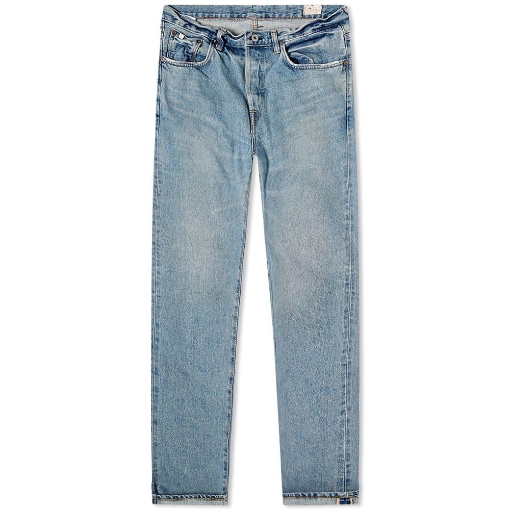 エドウィン EDWIN クラシック 【 CLASSIC REGULAR TAPERED JEAN LIGHT USED RAINBOW SELVEDGE 】 メンズファッション ズボン パンツ 送料無料