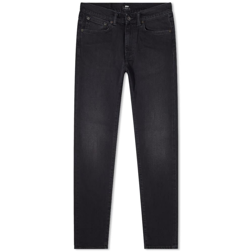 エドウィン EDWIN スリム パワー 黒 ブラック 【 SLIM POWER BLACK ED80 TAPERED JEAN MINERAL DENIM 】 メンズファッション ズボン パンツ 送料無料