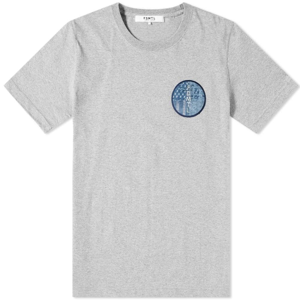 FDMTL Tシャツ メンズファッション トップス カットソー メンズ 【 Circle Boro Tee 】 Grey