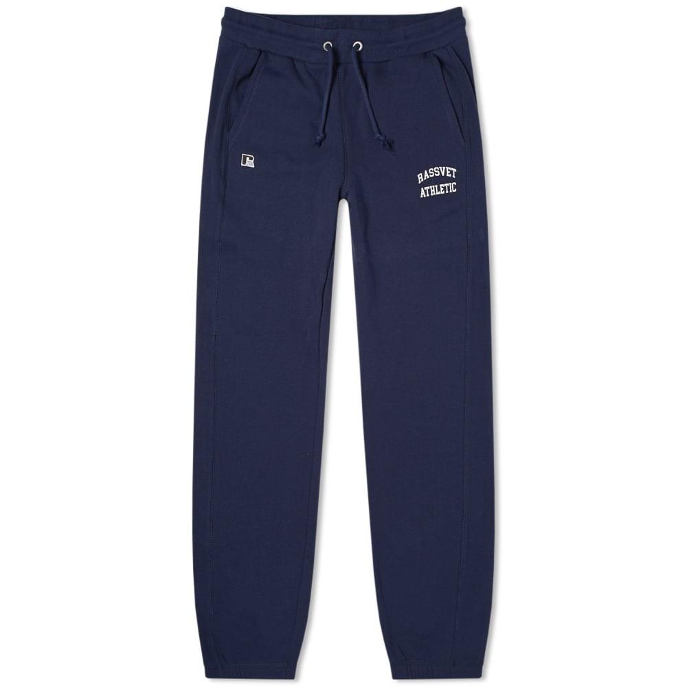 PACCBET ラッセル スウェット パンツ メンズファッション ズボン メンズ 【 X Russell Athletic Sweat Pant 】 Navy
