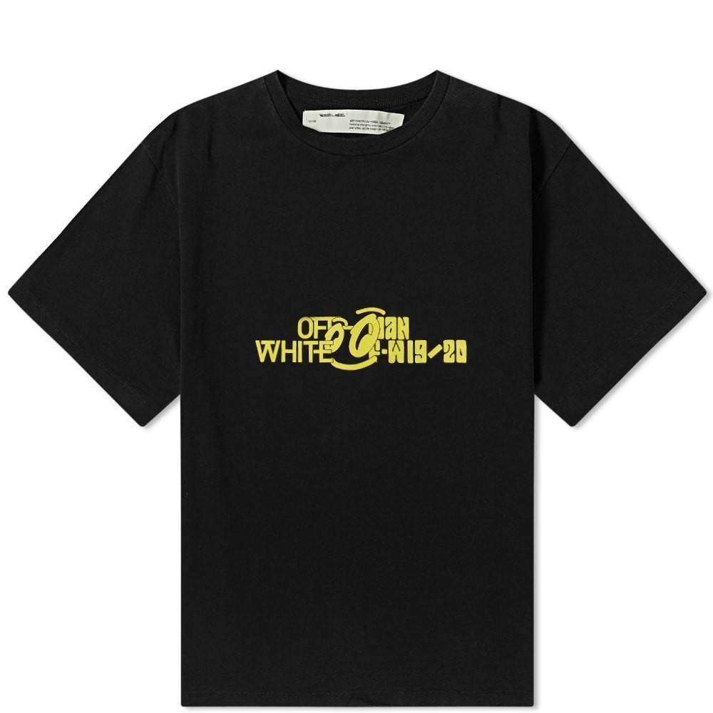 大人気 OFF-WHITE カットソー【 トップス OFFWHITE HALFTONE OVERSIZED OVERSIZED TEE BLACK】 メンズファッション トップス Tシャツ カットソー 送料無料:スニーカーケース 店, Masters collection:e7b1c197 --- nagari.or.id
