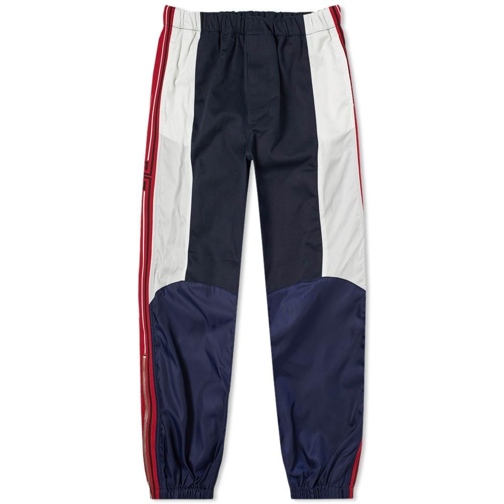 GIVENCHY コンバット パンツ 紺 ネイビー 【 NAVY GIVENCHY TAPED MOTO COMBAT PANT 】 メンズファッション ズボン パンツ