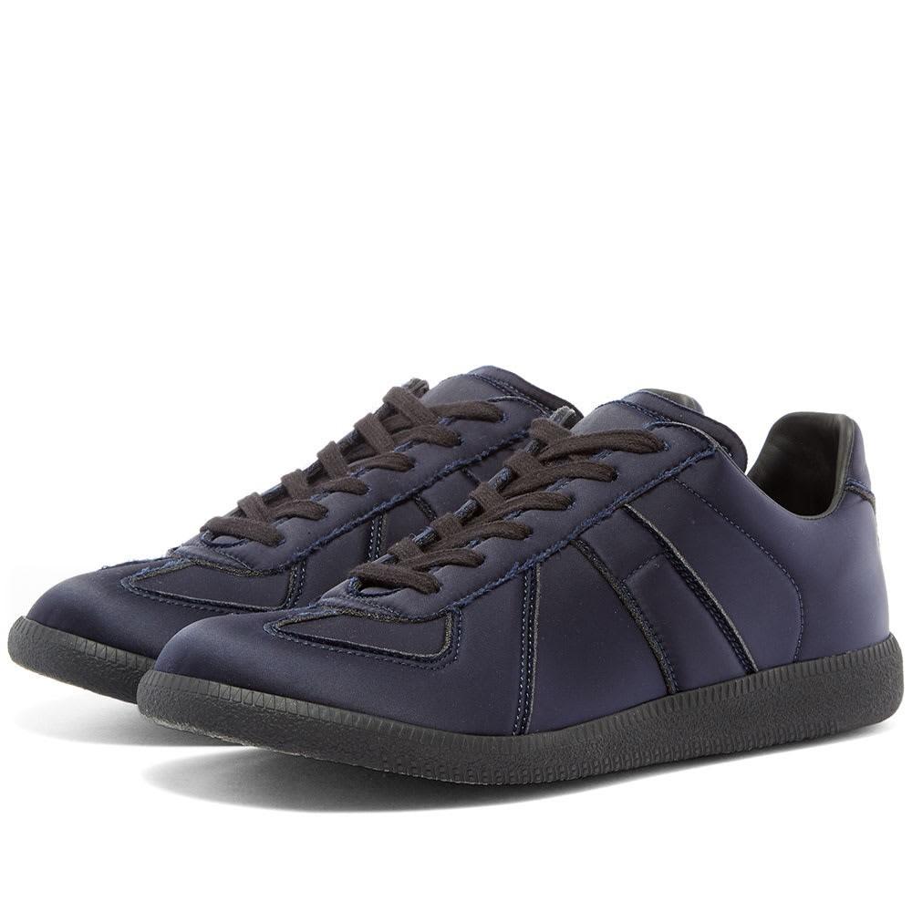 MAISON MARGIELA サテン スニーカー メンズ 【 22 Satin Replica Sneaker 】 Blue
