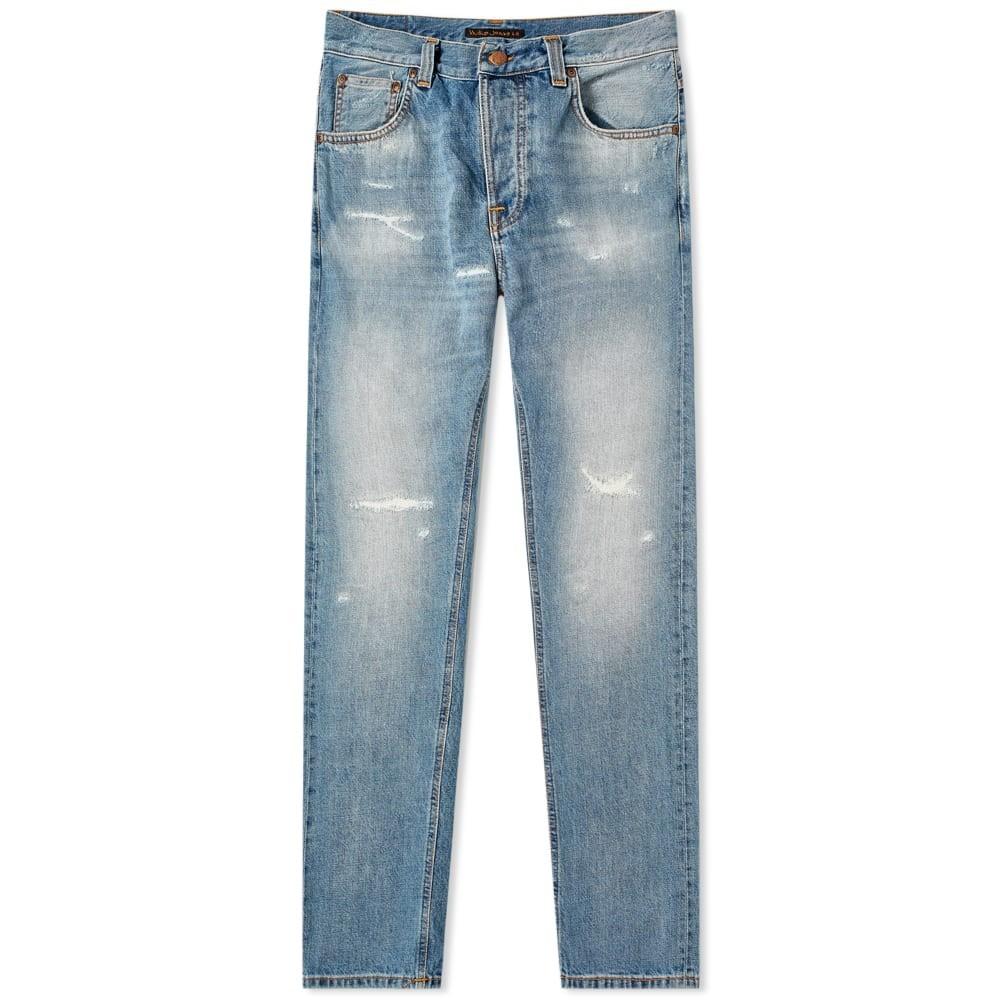 NUDIE JEANS CO 【 SLEEPY SIXTEN JEAN BROKEN SUMMER 】 メンズファッション ズボン パンツ 送料無料
