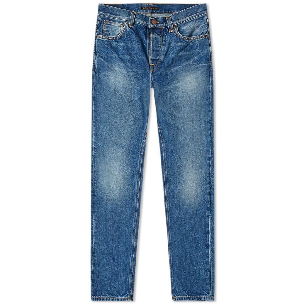 NUDIE JEANS CO ミッド 【 NUDIE JEANS CO STEADY EDDIE II JEAN MID WORN 】 メンズファッション ズボン パンツ