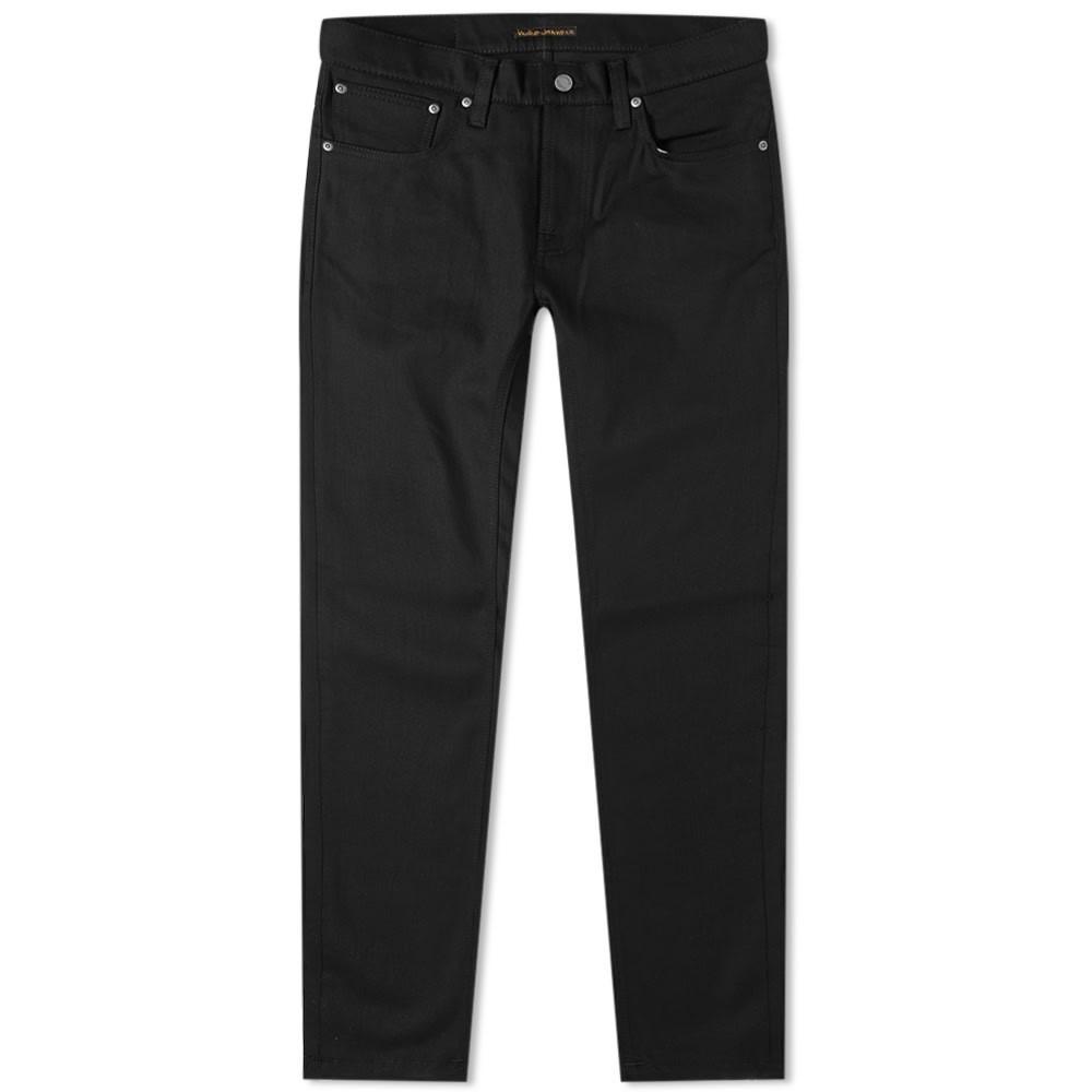 NUDIE JEANS CO メンズファッション ズボン パンツ メンズ 【 Nudie Grim Tim Jean 】 Dry Ever Black
