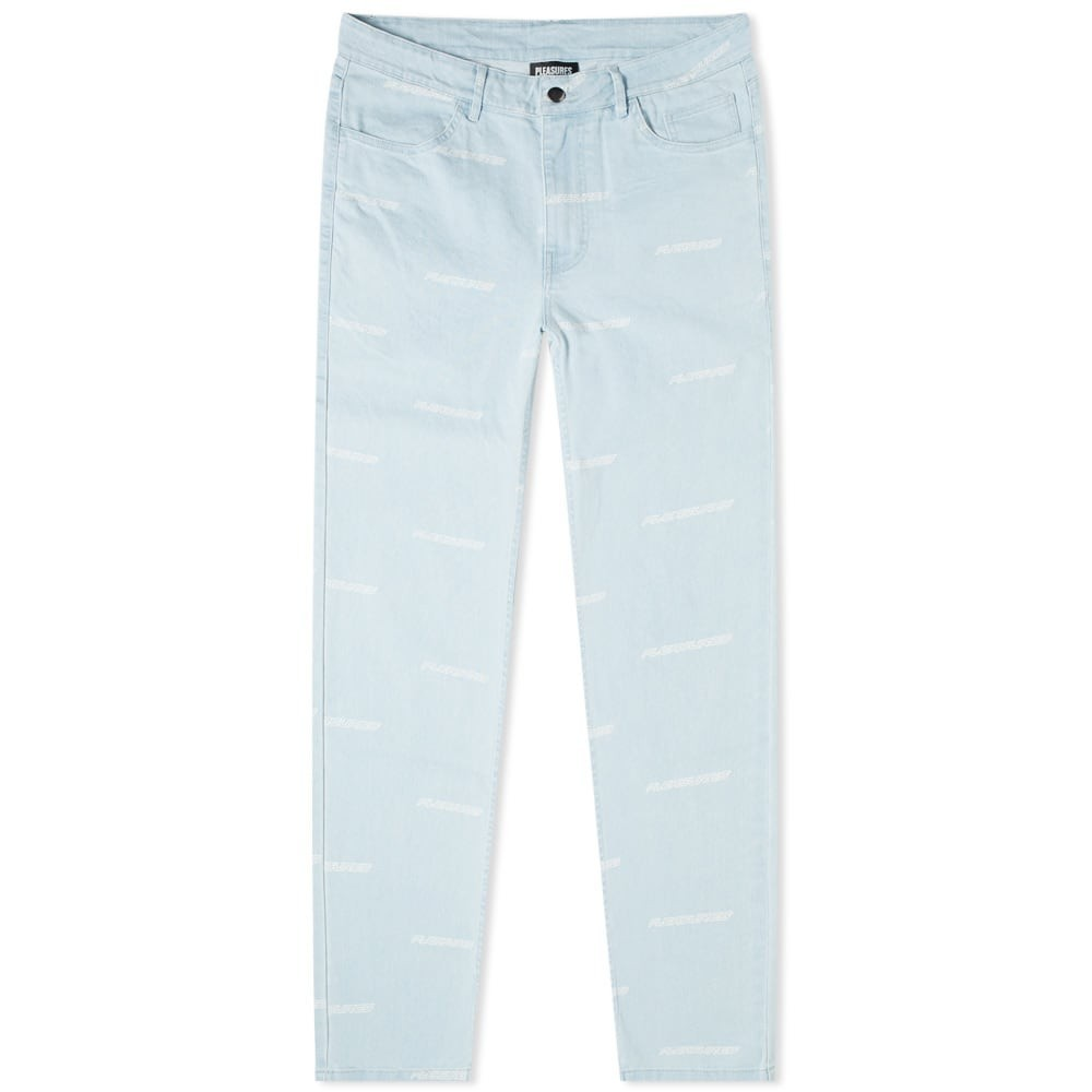 PLEASURES 【 TYPHOON JEAN BLUE 】 メンズファッション ズボン パンツ 送料無料