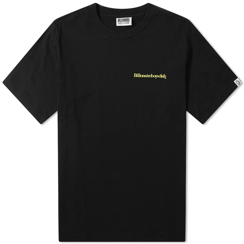ビリオネアボーイズクラブ BILLIONAIRE BOYS CLUB ロゴ Tシャツ メンズファッション トップス カットソー メンズ 【 Small Logo Tee 】 Black