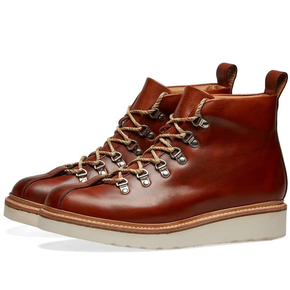 GRENSON ブーツ メンズ 【 Bobby Mountain Boot 】 Tan Hand Painted Calf