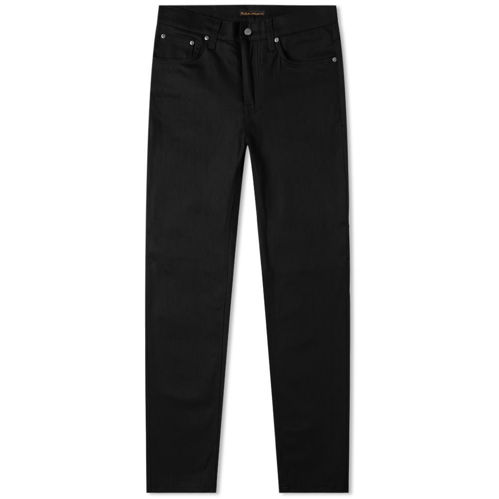 NUDIE JEANS CO 黒 ブラック 【 BLACK NUDIE JEANS CO STEADY EDDIE II JEAN DRY EVER 】 メンズファッション ズボン パンツ