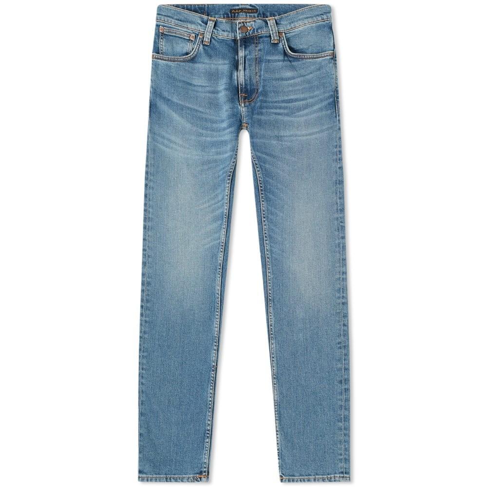NUDIE JEANS CO 【 THIN FINN JEAN LOST ORANGE 】 メンズファッション ズボン パンツ 送料無料