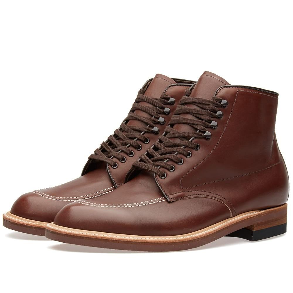 ALDEN SHOE COMPANY ブーツ メンズ 【 Alden Indy Boot 】 Walnut Calf Leather