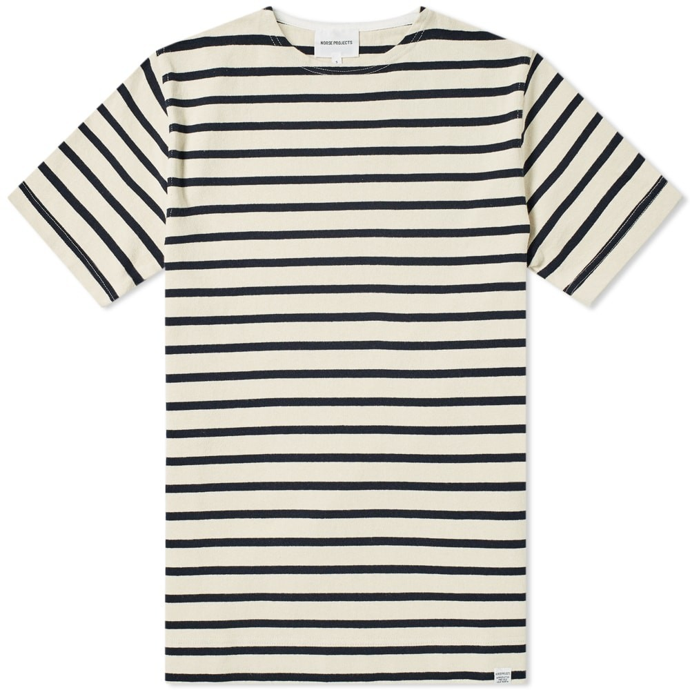 NORSE PROJECTS クラシック Tシャツ メンズファッション トップス カットソー メンズ 【 Godtfred Classic Compact Tee 】 Ecru
