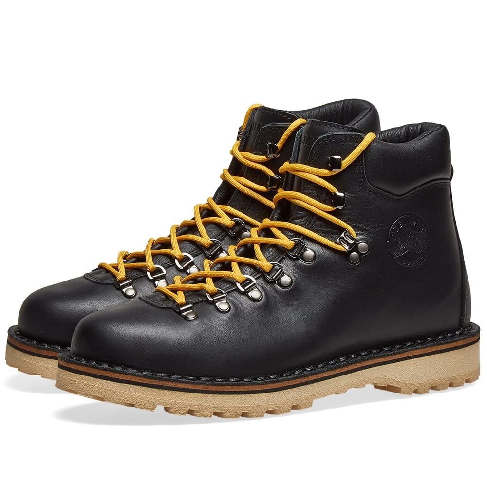 DIEMME ブーツ メンズ 【 Roccia Vet Boot 】 Black Full Grain Leather