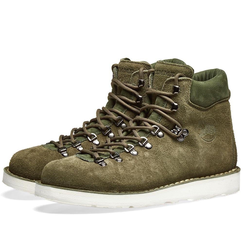 DIEMME ブーツ メンズ 【 Roccia Vet Boot 】 Olive Desert Oasis Suede