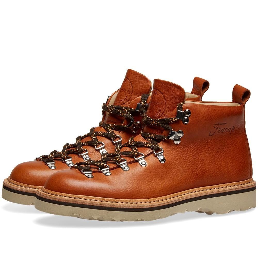 FRACAP ブーツ メンズ 【 M120 Ankara Sole Guardolo Scarponcino Boot 】 Cognac