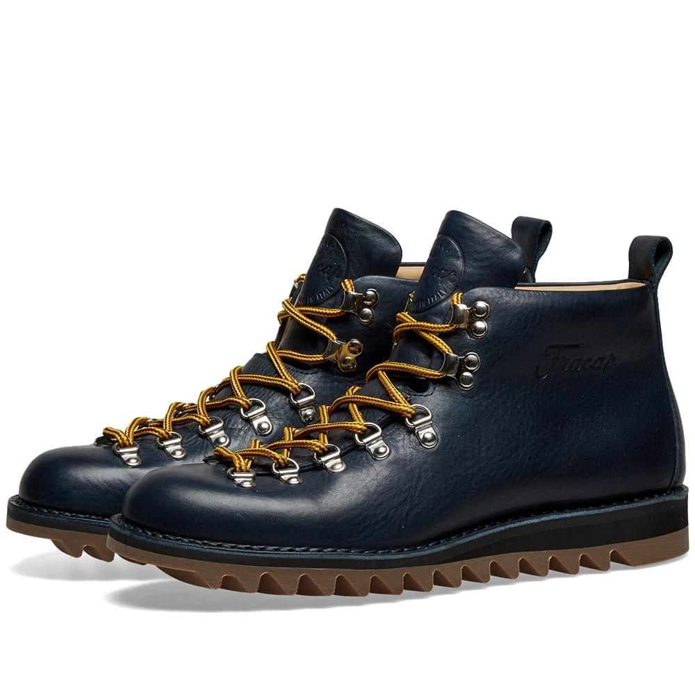 FRACAP ブーツ メンズ 【 M120 Ripple Sole Scarponcino Boot 】 Navy
