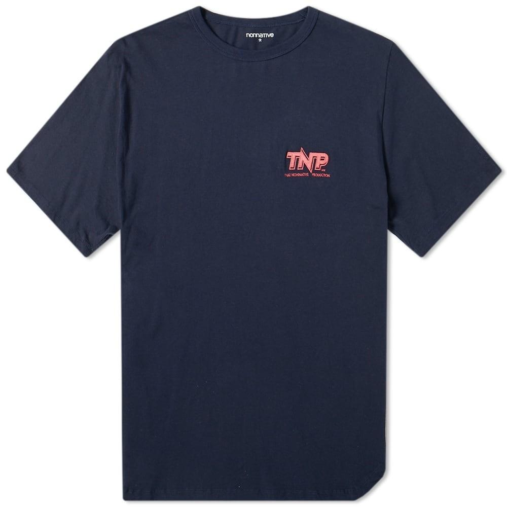 NONNATIVE ロゴ Tシャツ メンズファッション トップス カットソー メンズ 【 Tnp Logo Tee 】 Navy