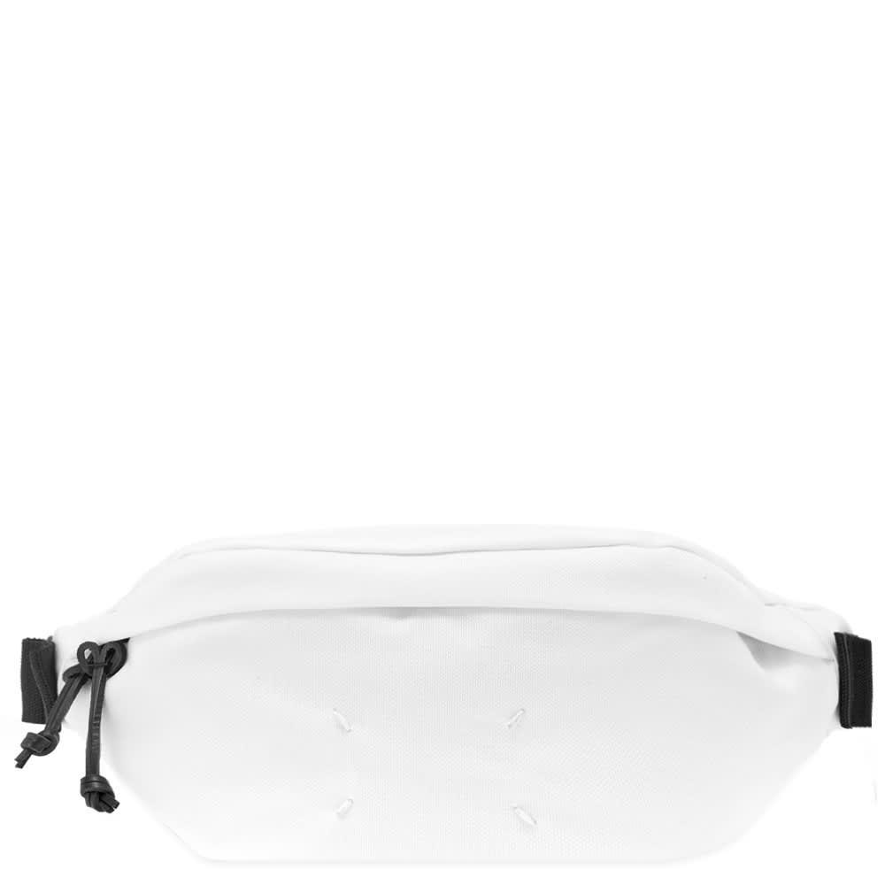 ファッションブランド カジュアル ファッション バッグ MAISON MARGIELA 【 11 CORDURA WAIST BAG WHITE 】 バッグ 送料無料