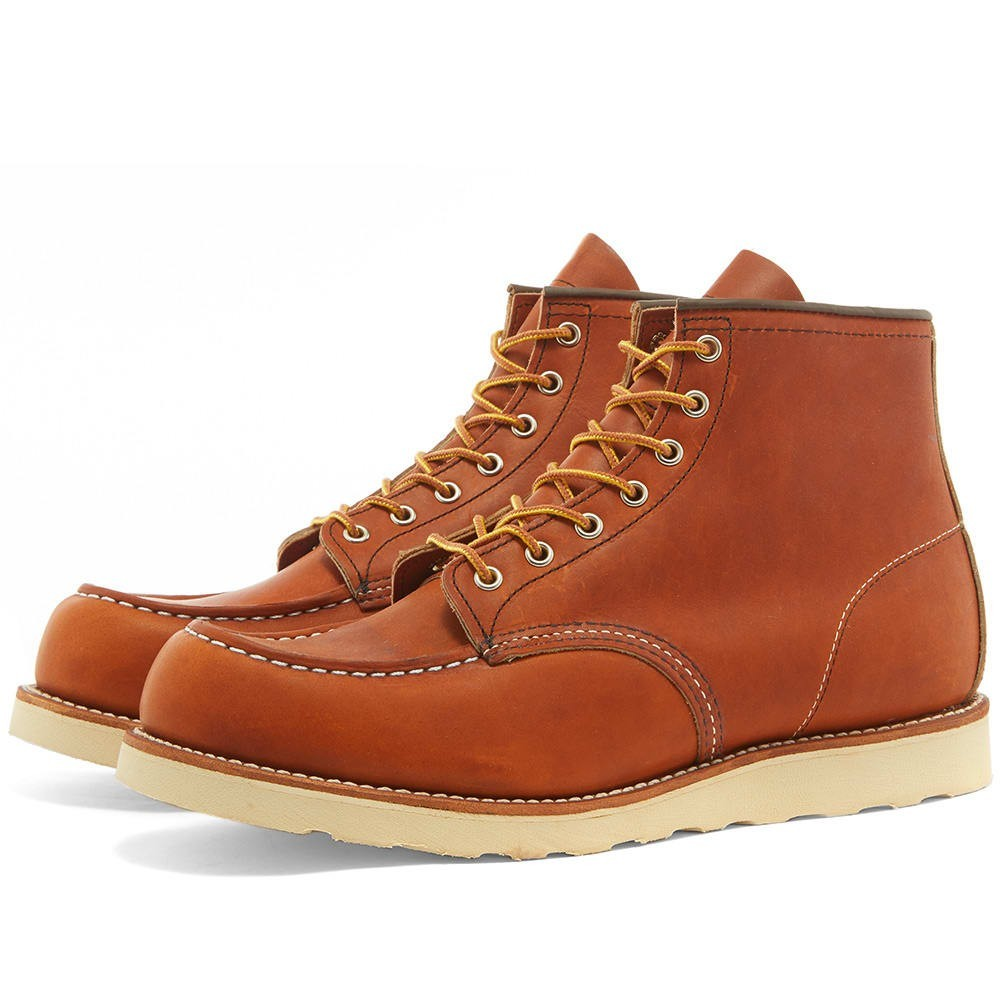 "RED WING ブーツ 6"" メンズ 【 875 Heritage Work 6"" Moc Toe Boot 】 Oro-legacy"