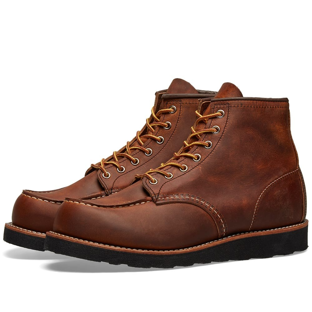 """【NeaYearSALE1/1-1/5】RED WING 赤 レッド 6"""" & 【 8886 HERITAGE WORK MOC TOE BOOT COPPER ROUGH TOUGH 】 メンズ ブーツ 送料無料"""
