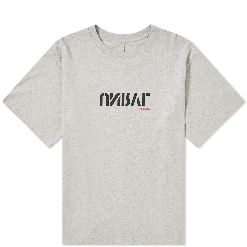 UNRAVEL PROJECT ロゴ Tシャツ メンズファッション トップス カットソー メンズ 【 Unrvl Chest Logo Drawstring Tee 】 Grey Marl