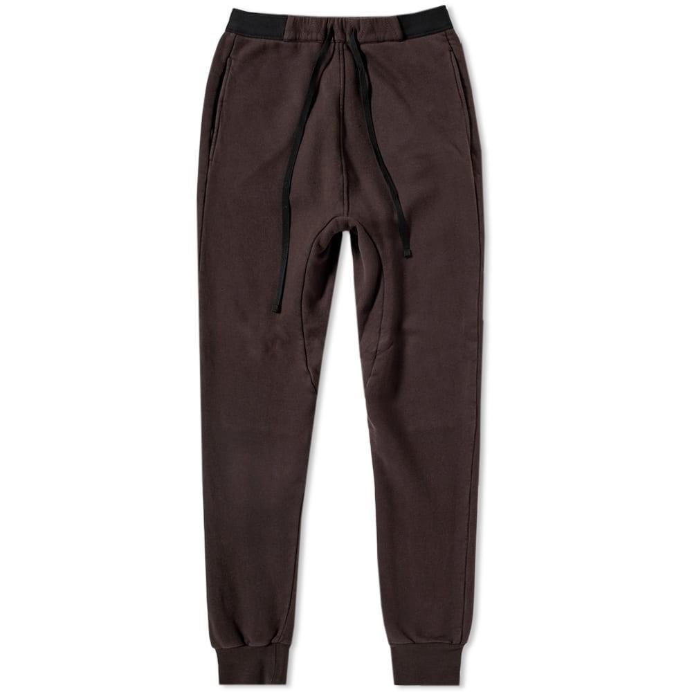 UNRAVEL PROJECT ライズ メンズファッション ズボン パンツ メンズ 【 Low Rise Sweatpant 】 Dark Brown
