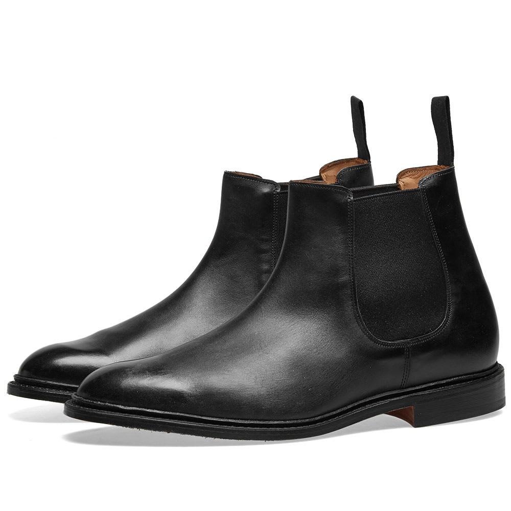 TRICKERS ブーツ メンズ 【 Trickers Roxbury Chelsea Boot 】 Black Museum