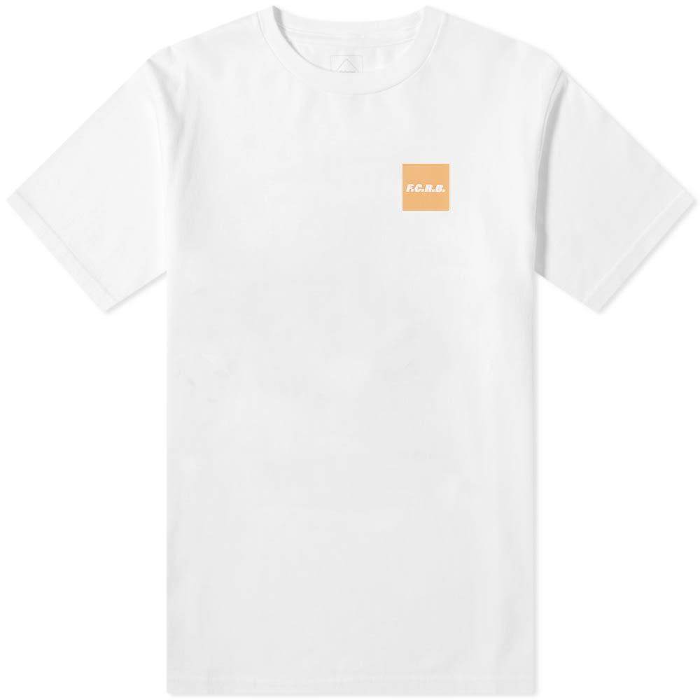 F.C. REAL BRISTOL Tシャツ F.c.r.b. メンズファッション トップス カットソー メンズ 【 Square F.c.r.b. Tee 】 White