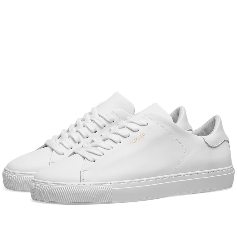 AXEL ARIGATO スニーカー 【 CLEAN 90 SNEAKER W WHITE LEATHER 】 メンズ 送料無料