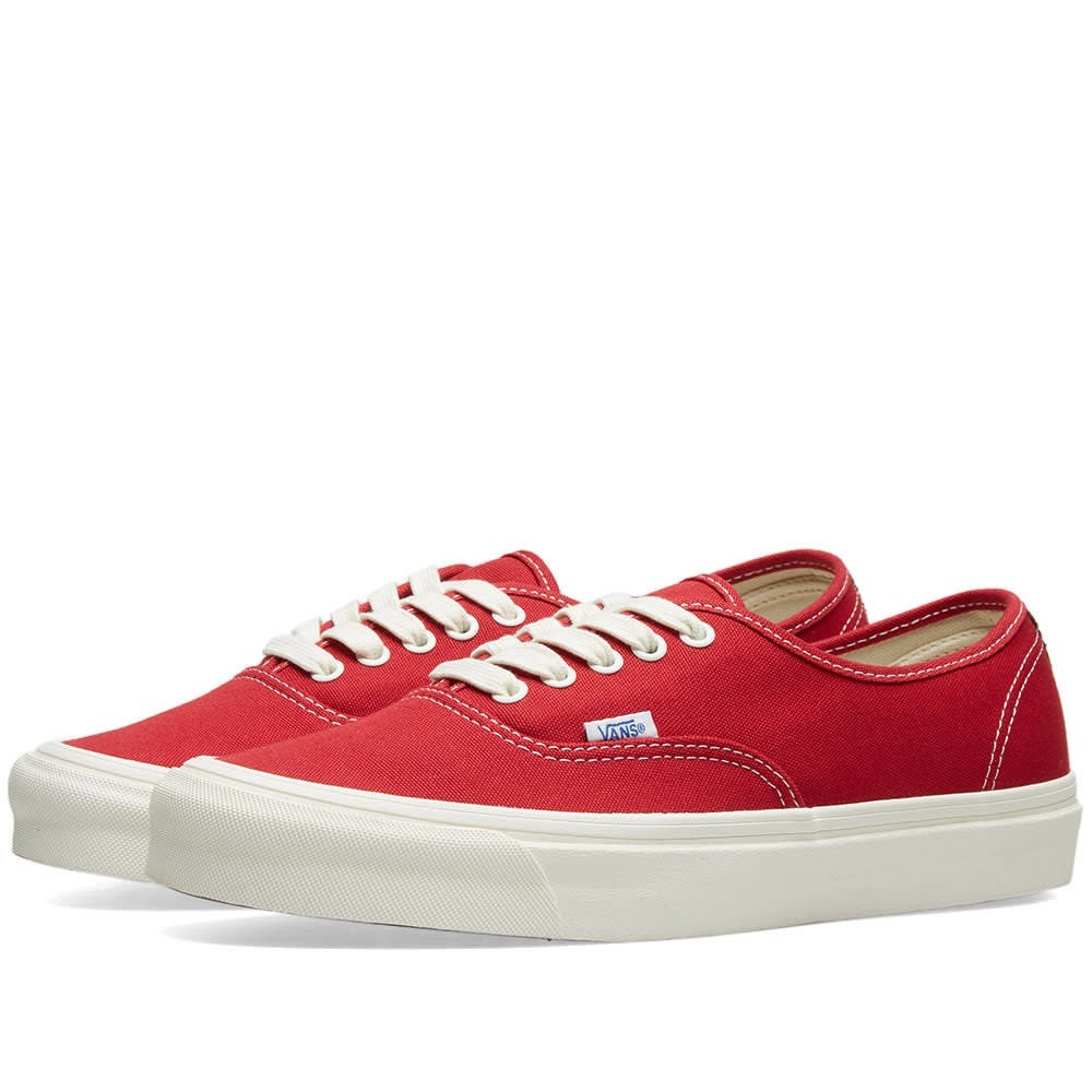 VANS VAULT オーセンティック スニーカー メンズ 【 Og Authentic Lx 】 Chilli Pepper & Teak