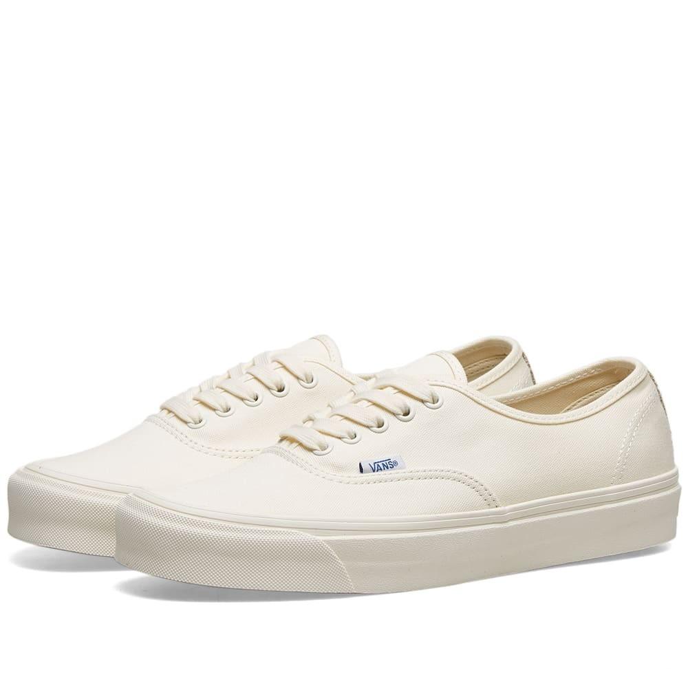 VANS VAULT オーセンティック スニーカー メンズ 【 Og Authentic Lx 】 White & Safari