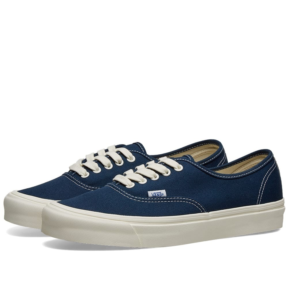 VANS VAULT オーセンティック スニーカー メンズ 【 Og Authentic Lx 】 Dress Blue & Wrought Iron