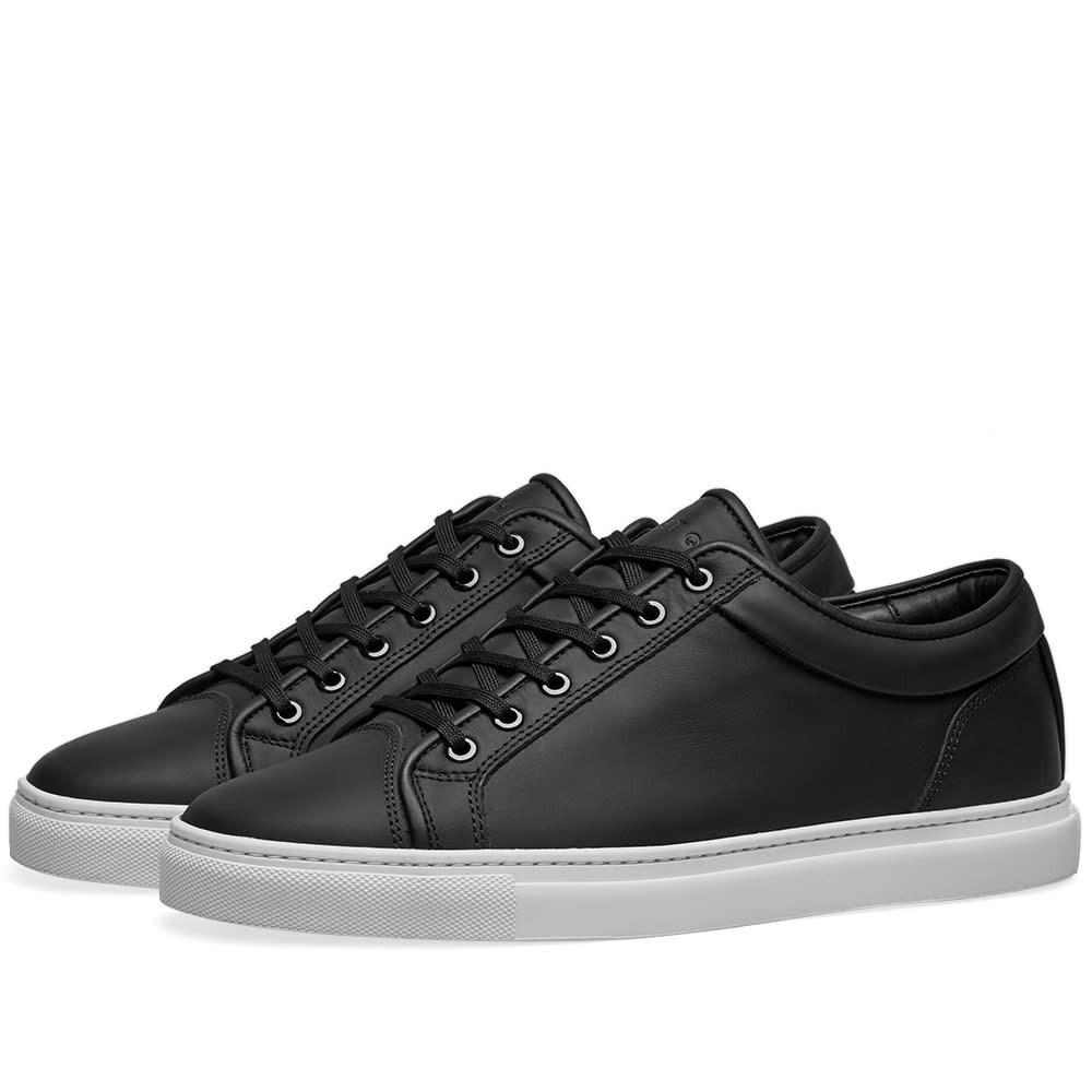 ETQ. AMSTERDAM Etq. スニーカー メンズ 【 Etq. Low Top 1 Sneaker 】 Black & White