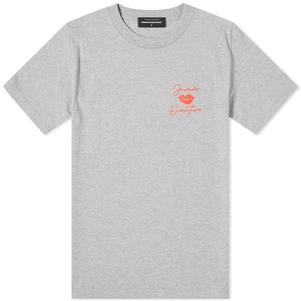【NeaYearSALE1/1-1/5】JUNIOR EXECUTIVE 【 LADY TEE SPORT GREY 】 メンズファッション トップス Tシャツ カットソー 送料無料