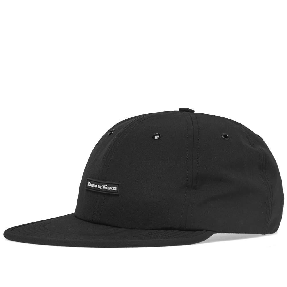 ファッションブランド カジュアル ファッション キャップ ハット RAISED BY WOLVES コマンダー 【 COMMANDER 6 PANEL CAP BLACK 】 バッグ キャップ 帽子 メンズキャップ 送料無料